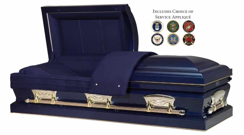 Freedom Casket Veteran Burial