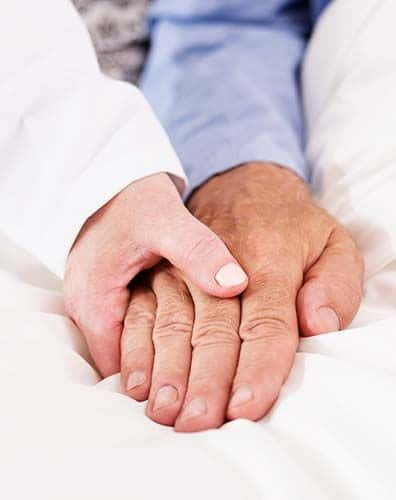 When a death occurs and the deceased has been in hospice care before passing