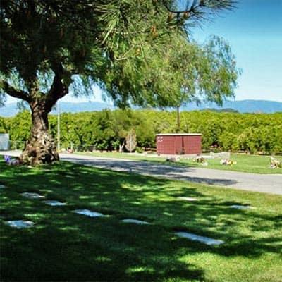 Valley Center Cemetery in Valley Center, CA